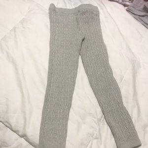 Carters 4T sweater gray tights